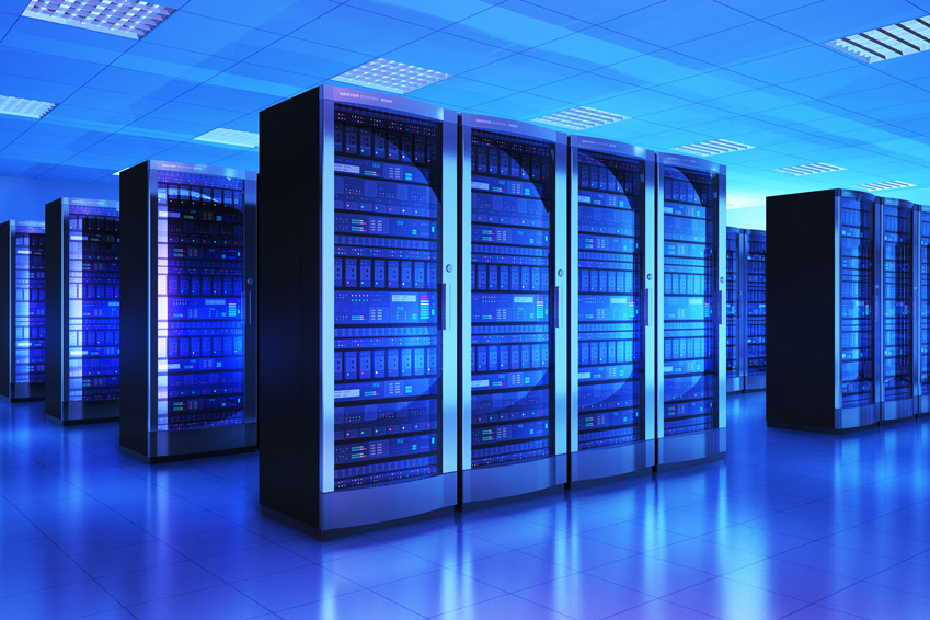Image of Cloud data center