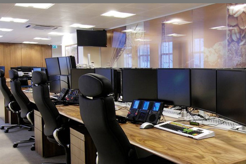 Beautiful Hedge Fund Trading Room