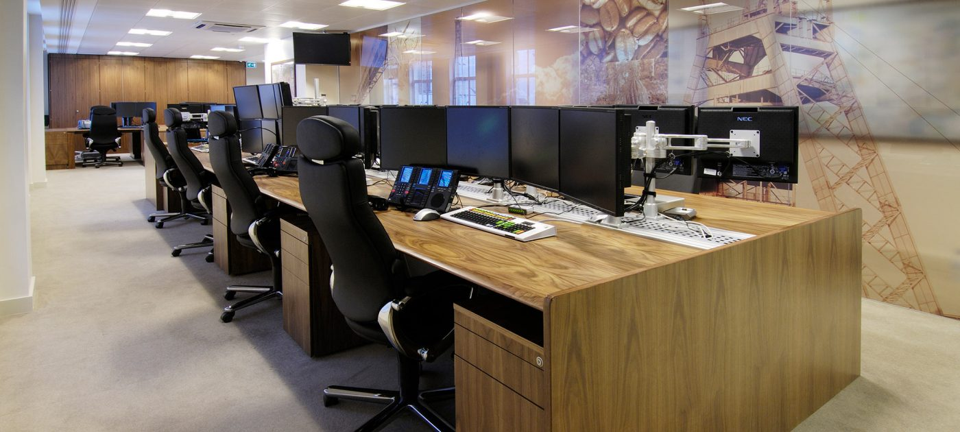 office space and infrastructure design