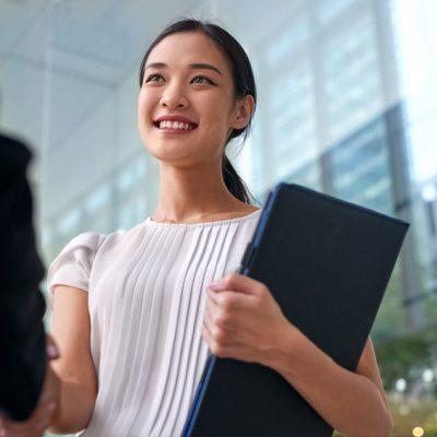 Recruitment Handshake