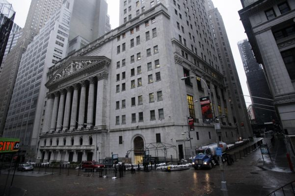 Hurricane Sandy Closes Wall Street