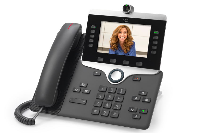 cisco IP video phone