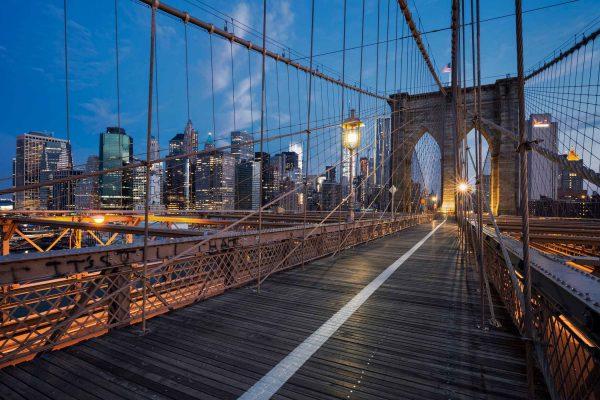 Brooklyn Bridge New York Financial District