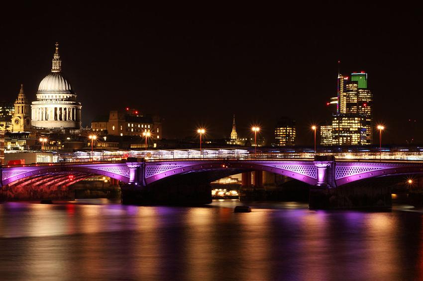 st paul's cathedrial blackfriar's bridge